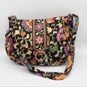 Vera Bradley Saddle Up Floral Print Crossbody Bag